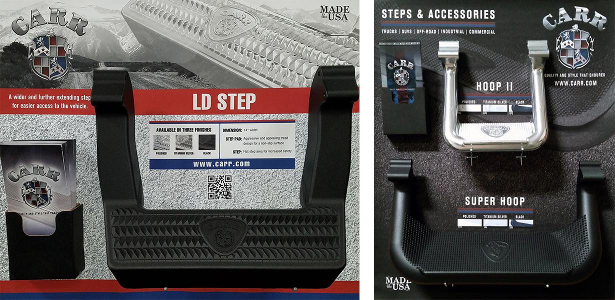 LD Step, Hoop II, and Super Hoop